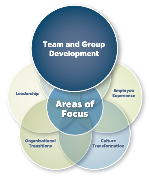 Team and Group Development diagram
